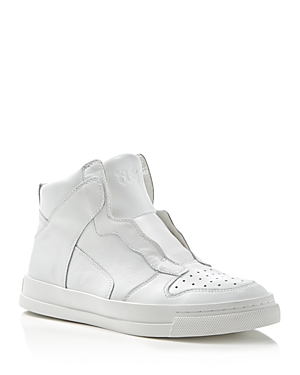 Ash Enigma Mid Top Slip-On Sneakers