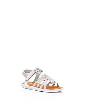 Toms Girls' Huarache Metallic Sandals - Baby, Walker, Toddler