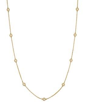 """Roberto Coin - 18K Yellow Gold Barocco Diamond Necklace, 16"""""""