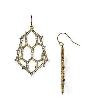 Alexis Bittar Elements Crystal Honeycomb Drop Earrings