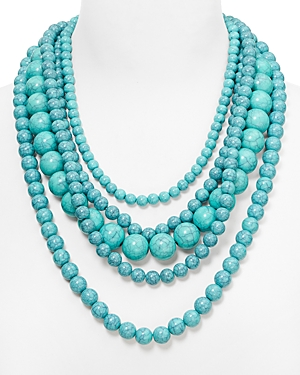Baublebar Globe Strands Layered Necklace, 18