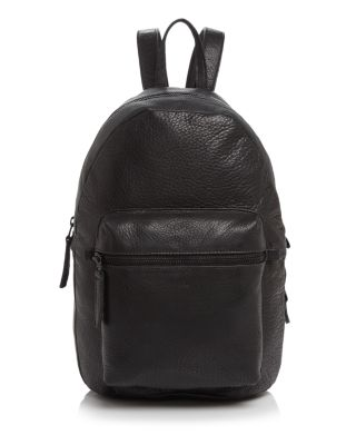 LEATHER BACKPACK
