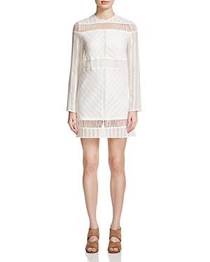 Stylestalker Ladder Stitch Mini Dress