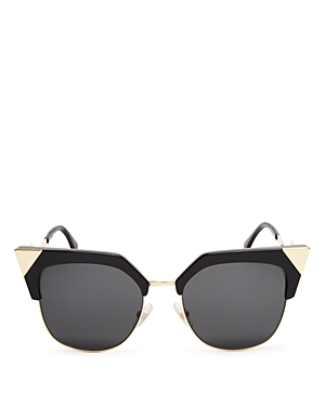 fendi female fendi iridia cat eye sunglasses 54mm