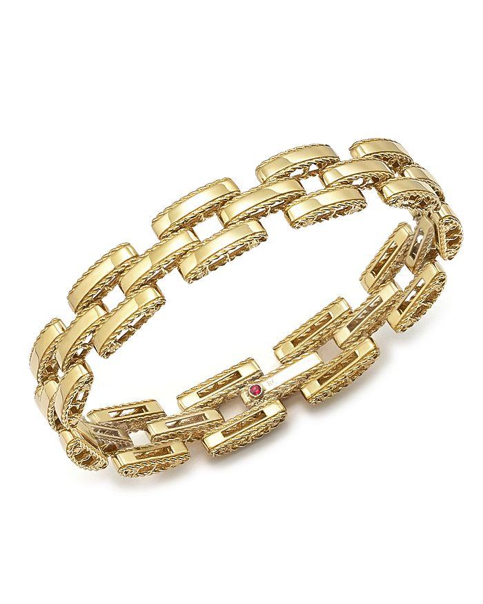 Roberto Coin - 18K Yellow Gold Retro Bracelet