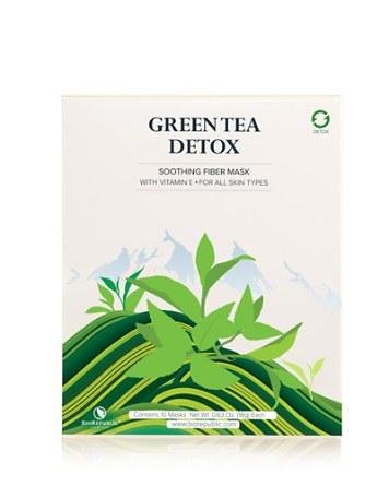 $BioRepublic Green Tea Detox Purifying Fiber Sheet Mask, Box of 10 - Bloomingdale's