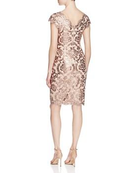 Tadashi Shoji - Sequined Lace Dress