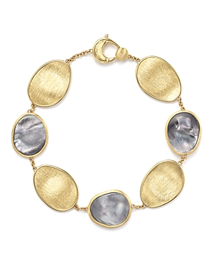 Marco Bicego 18K Yellow Gold Lunaria Bracelet with Black Mother-of-Pearl - 100% Exclusive