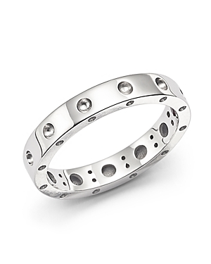 Roberto Coin 18K White Gold Symphony Dotted Ring