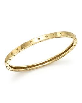 Roberto Coin - 18K Yellow Gold Symphony Dotted Bangle Bracelet