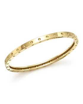 d02faf0ec942 Roberto Coin - 18K Yellow Gold Symphony Dotted Bangle Bracelet ...