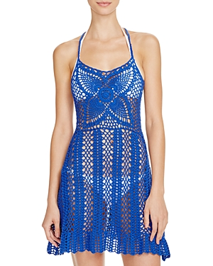 Minkpink Color Me Crochet Dress Swim Cover-Up