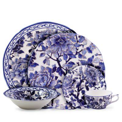 Piviones Bleu Sugar Bowl