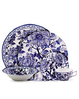 Gien France - Piviones Bleu Collection
