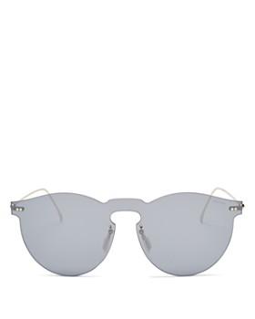 Illesteva - Leonard Mirrored Shield Sunglasses, 55mm