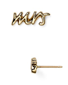 kate spade new york - Say Yes Mrs. Stud Earrings