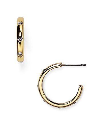 kate spade new york - Infinity and Beyond Hoop Earrings