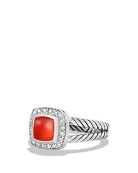 David Yurman - Petite Albion Rings with Gemstones and Diamonds