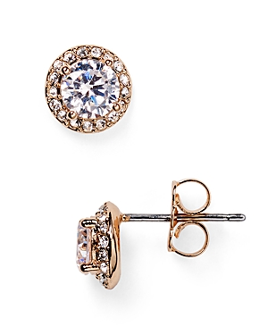Nadri Pave Stud Earrings