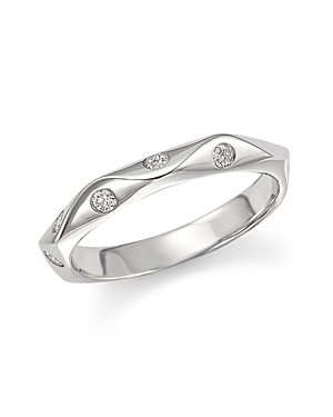 Diamond Band in 14K White Gold, .17 ct. t.w. - 100% Exclusive