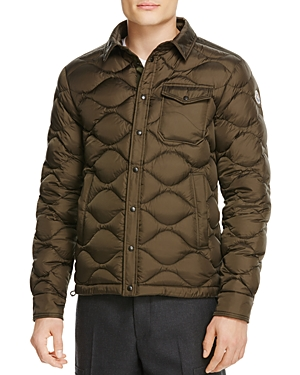 Moncler Nambour Solid Quilted Down Jacket