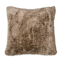 "DKNY Loft Stripe Faux Fur Decorative Pillow, 16"" x 16"" - Bloomingdale's_0"