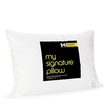Bloomingdale's - My Signature Pillow, Medium Density, Standard - 100% Exclusive