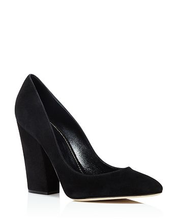 Sergio Rossi - Women's Virginia Suede High-Heel Pumps