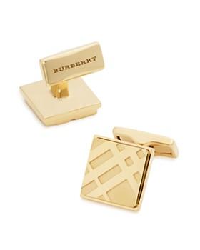 Burberry - Square Check Cufflinks