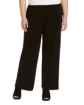 Karen Kane Plus - Matte Jersey Wide-Leg Pants