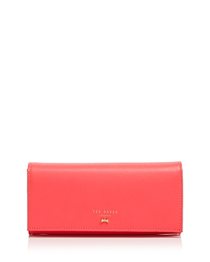Ted Baker Micro Bow Crosshatch Matinee Wallet