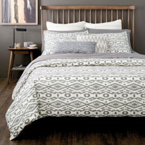 Dwell Studio Tangier Geo Duvet Cover, King