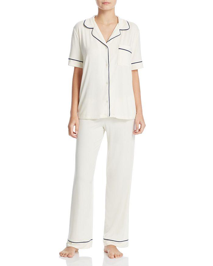 Eberjey - Gisele Short Sleeve Long Pant Pajama Set