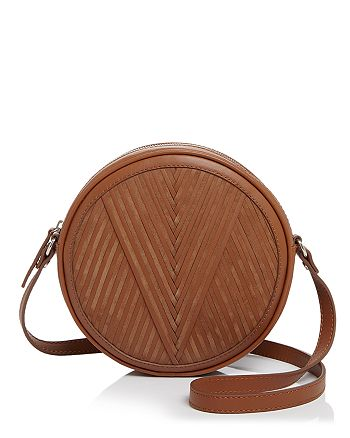 Lili Radu - Circle V-Pattern Shoulder Bag