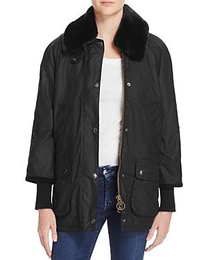 Barbour Snow Bedale Faux Fur Collar Raincoat - 100% Exclusive