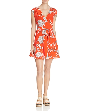 Yumi Kim Soho Mixer Floral Print Wrap Dress
