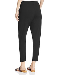 Eileen Fisher Petites - Slim Slouchy Ankle Pants