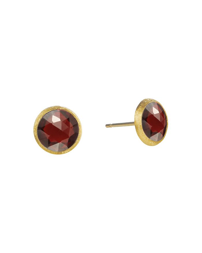 b69bf5c69 Marco Bicego 18K Yellow Gold Jaipur Garnet Stud Earrings ...