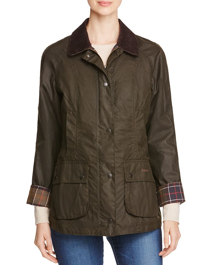 3fca4cd80c09 Barbour Classic Beadnell Waxed Cotton Jacket | Bloomingdale's