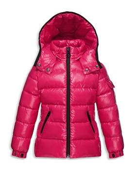 moncler pink bubble coat