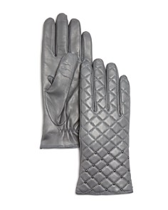 Bloomingdale's - Cashmere Lined Quilted Leather Gloves - 100% Exclusive