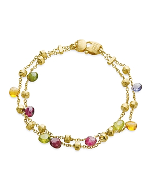 Marco Bicego Paradise Collection Two Strand Gold Bracelet-Jewelry & Accessories