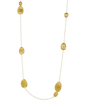 Marco Bicego - 18K Yellow Gold Lunaria Necklace, 39.25""