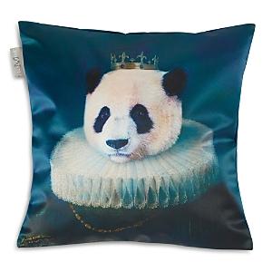 Madura Antique Panda Decorative Pillow Cover, 16 x 16