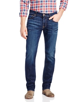 7 For All Mankind - AirWeft Slimmy Slim Fit Jeans in Commotion