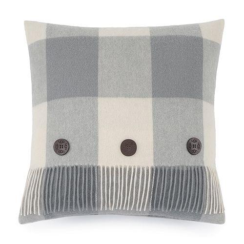 "UGG® - Buffalo Plaid Decorative Pillow, 20"" x 20"""