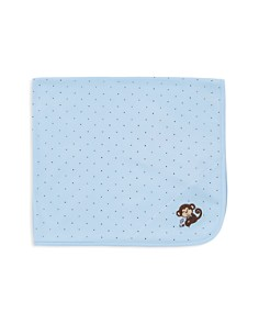 Little Me Infant Boys' Star Monkey Receiving Blanket - Bloomingdale's_0