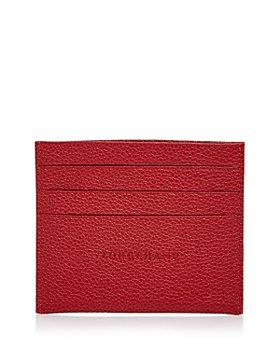 Longchamp - Le Foulonne Leather Card Case
