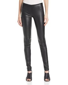 84b9ebfaf Theory - Adbelle Leather Pants ...