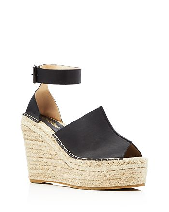 CATHERINE Catherine Malandrino - Chapsy Espadrille Wedge Sandals - Compare at $96.50